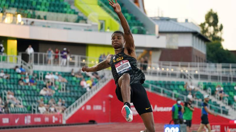 North Alabama native JuVaughn Harrison qualifies for the High and Long Jump, becoming the first...