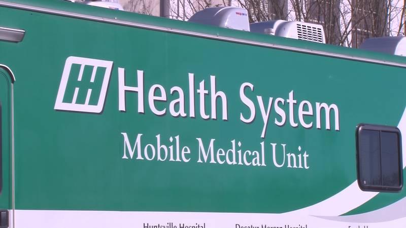 Huntsville Hospital mobile medical unit