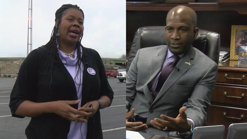 Incumbent JesHenry Malone faces newcomer Violent Edwards