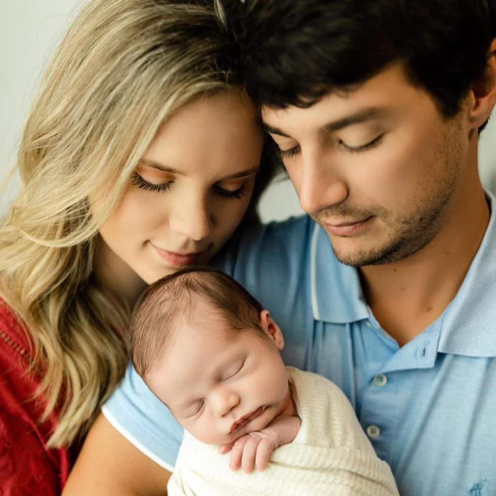 Hali Saylor and Joseph Delia welcomed their son Crew in May 2021.
