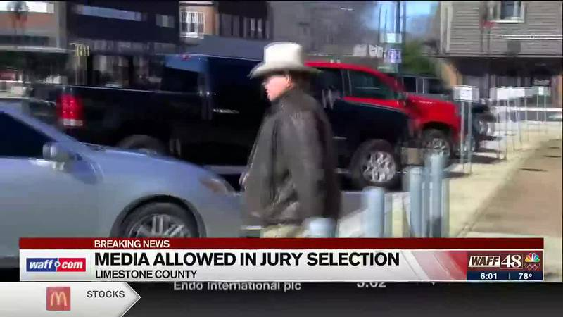Media allowed in jury selection for Sheriff Mike Blakely trial