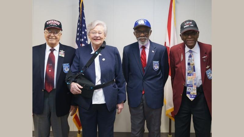 Governor Ivey declares March 7 Tuskegee Airman in Alabama