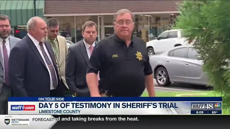 Day 5 of testimony in Sheriff Mike Blakely trial
