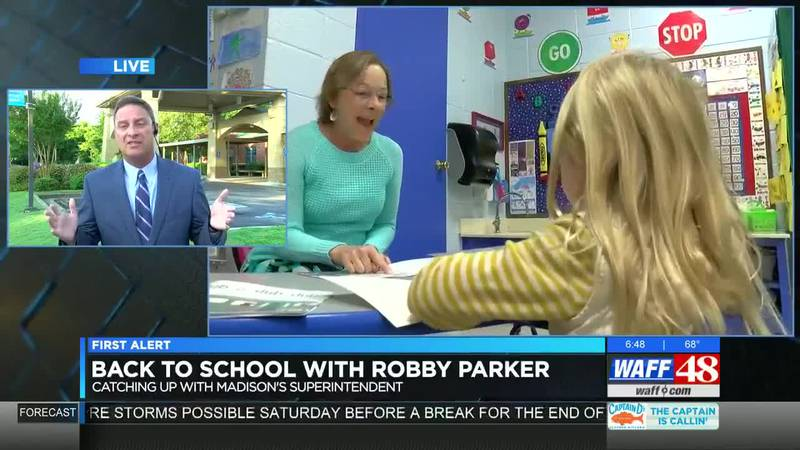Back to School with Robby Parker