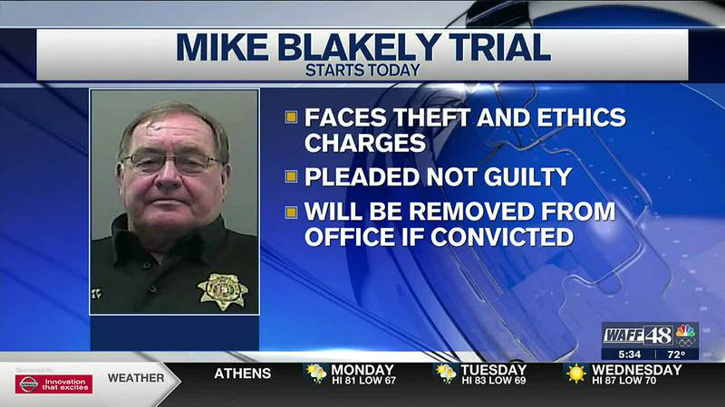 Trial for Limestone County Sheriff begins Monday
