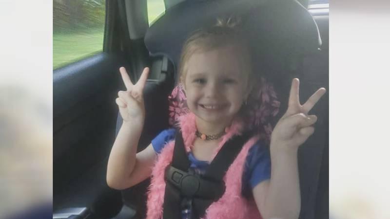 4 year-old Jaylee Ann Cheek.