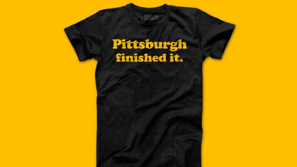 Pittsburgh Clothing Company responds to GV Art & Design's T-shirt