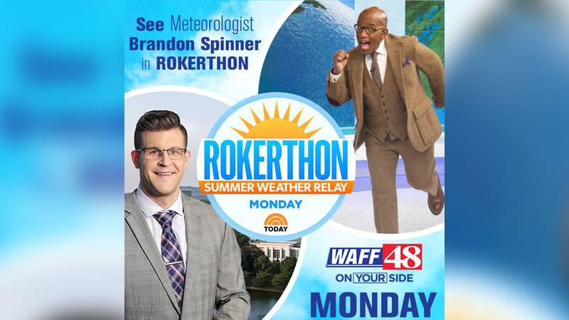 WAFF 48 meteorologist Brandon Spinner to join Today Show's Al Roker for 'Rokerthon'