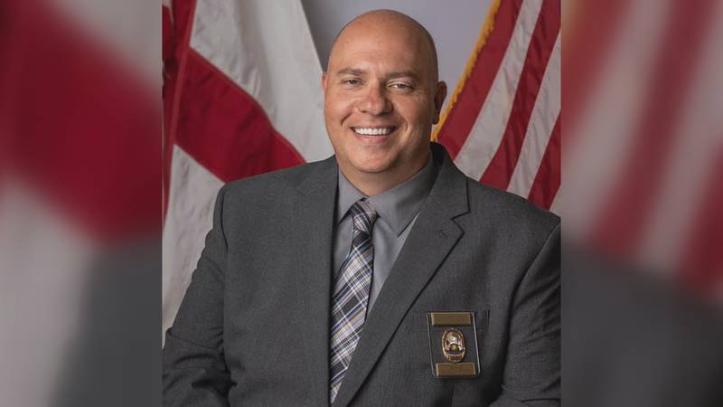 Michael Abercrombie, new Boaz Police Chief.
