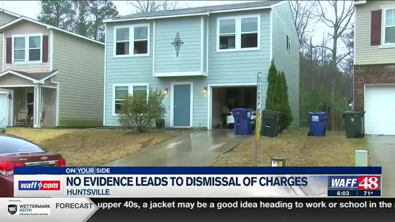 No evidence leads to dismissal of charges