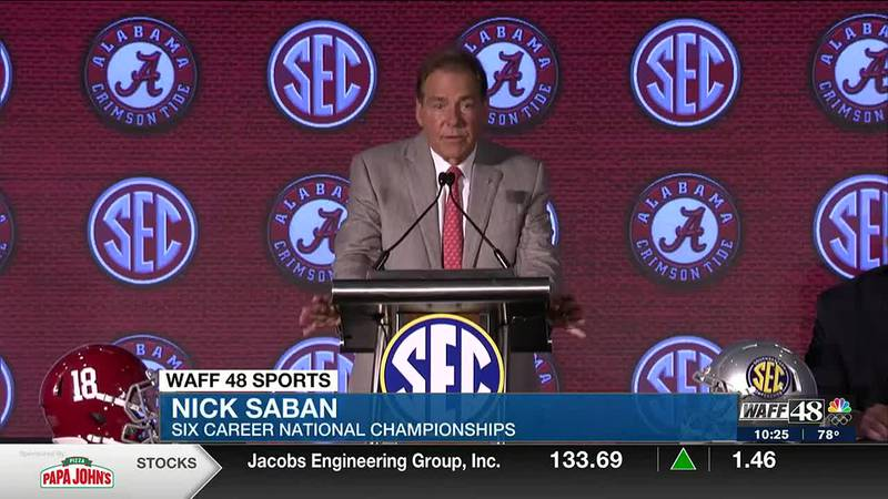 The Crimson Tide takes day 3 of SEC Media Days