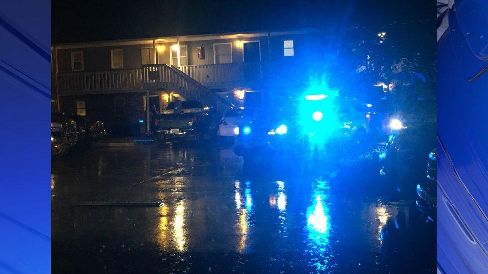 Death investigation underway at Tree Haven Glenn apartments.